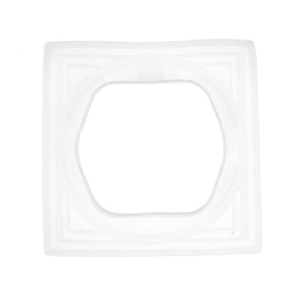 Силиконовая накладка для розеток с крышкой серий UGRA и BRAVO стандарт IP44